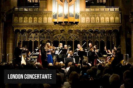 London Concertante presents-Vivaldi-The Four Seasons by candlelight
