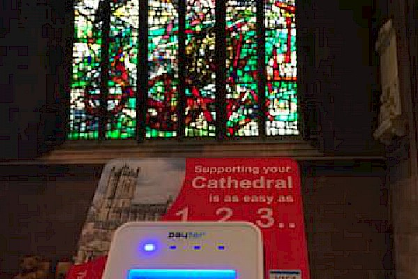 Contactless donations now accepted