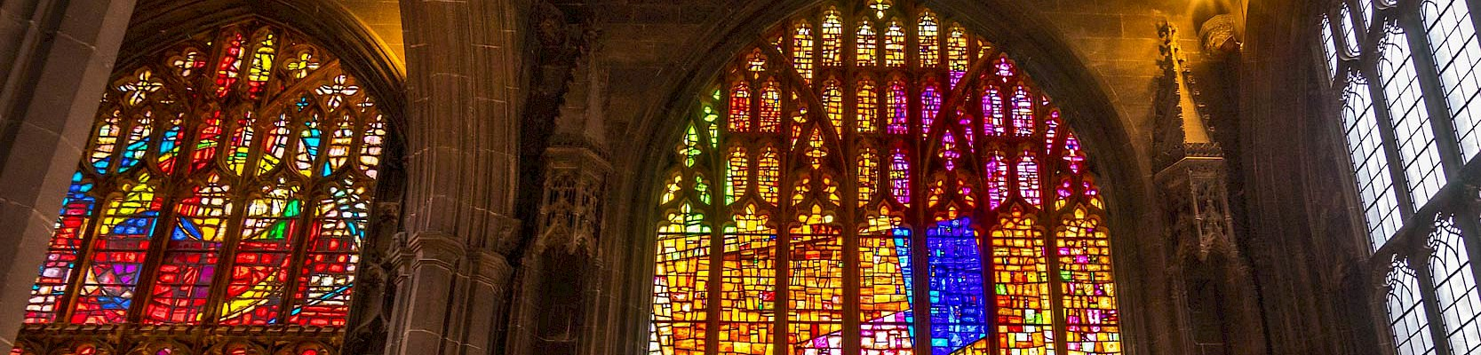 Cathedral Stained Glass Windows -