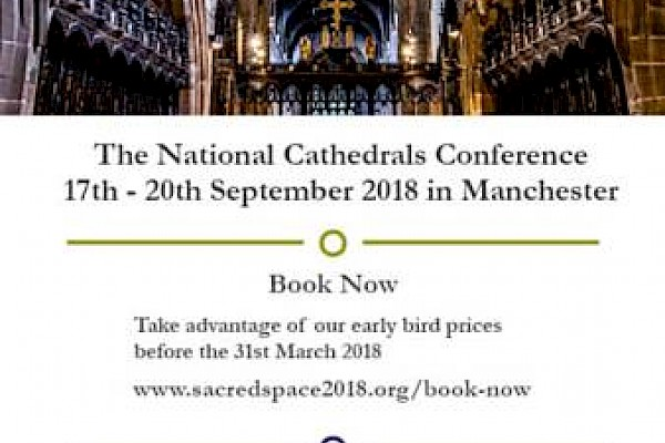 National Cathedrals Conference: book before 31 March for early bird prices