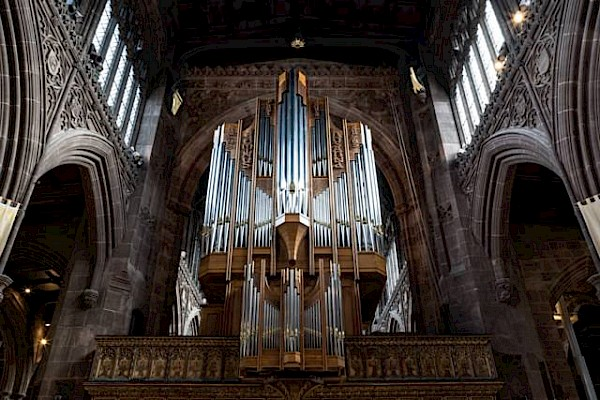 The Stoller Organ to be played for the first time on Easter Day