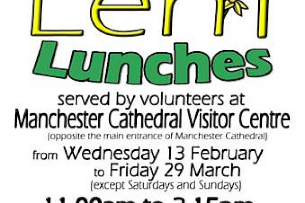 Simply Lent Lunches Volunteer café Needs You!